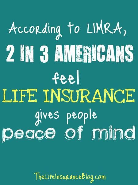 Life Insurance According To @LIMRA