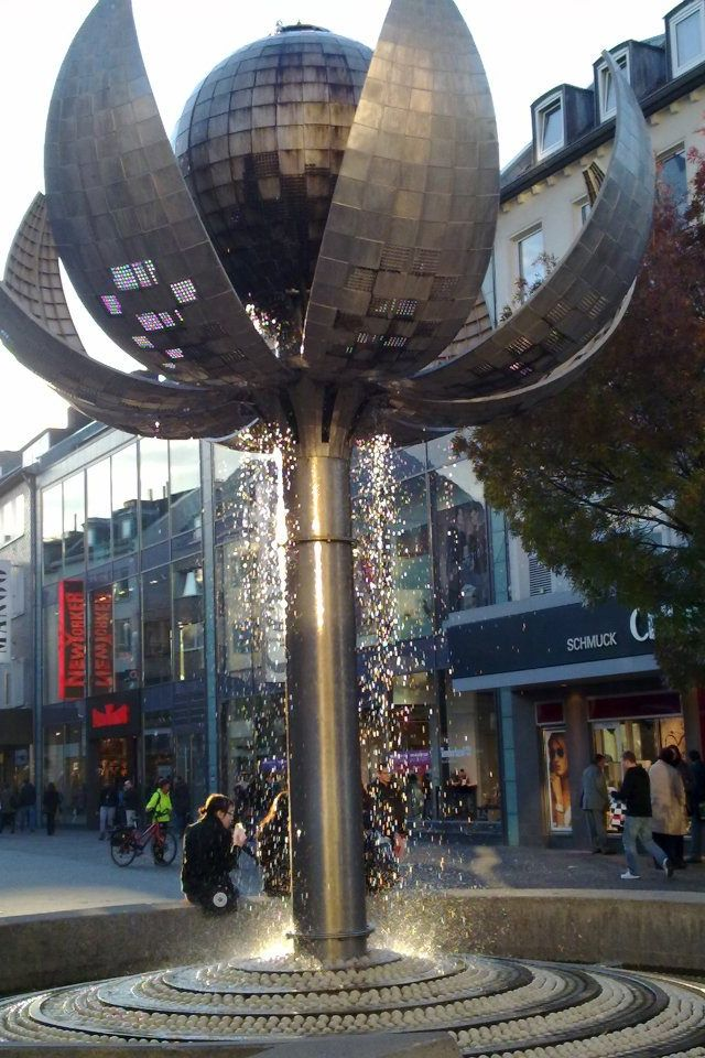 Aachen, Kugelbrunnen