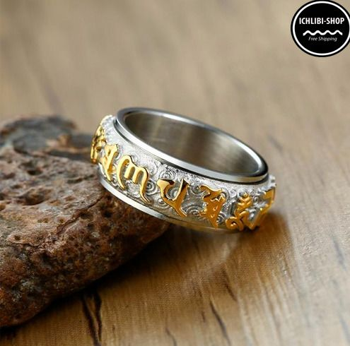 Richesse et Protection feng shui Bague Piyao