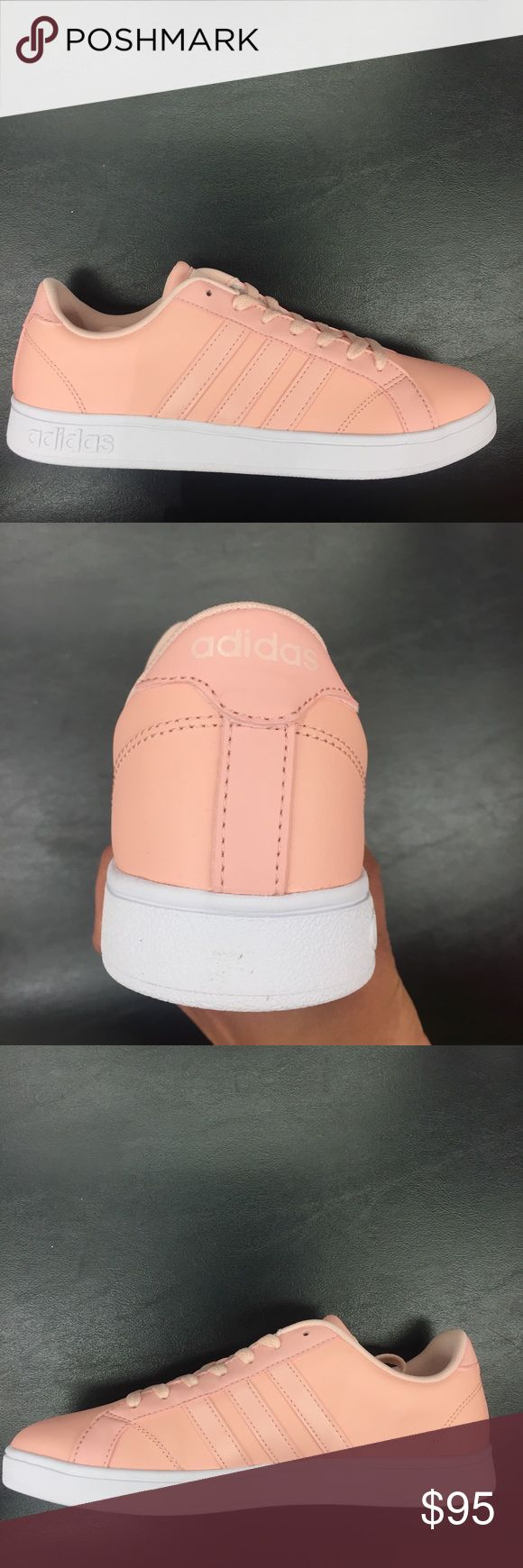 NWT 🌸MAKE OFFER🌸 Adidas Baseline Pink Sneaker 🌸 Brand new in original box!! Add some classic style to your casual wardrobe with the sleek design of these women's Baseline sneakers from adidas.(accepting offers, no trades) 🌸 adidas Shoes Sneakers