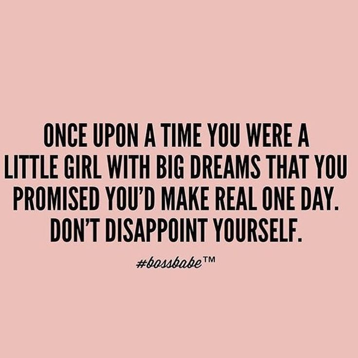 Mean #Business - Do not disappoint that little girl.  She still believes in you!