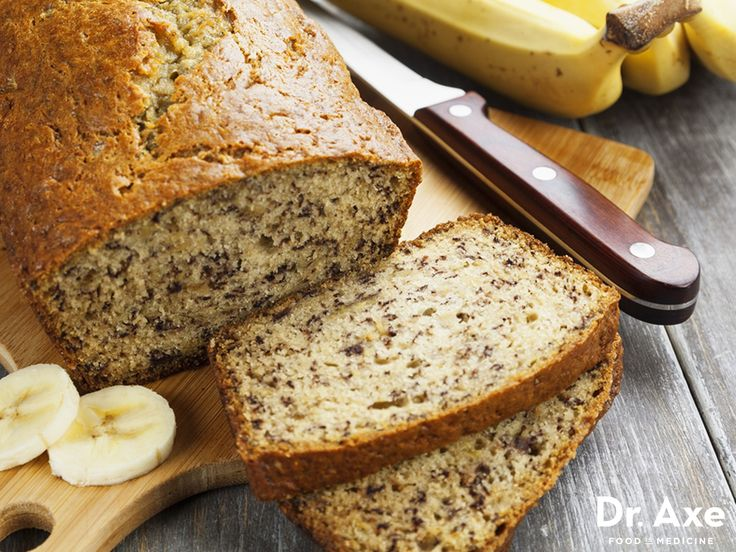 Gluten-Free Banana Bread Recipe http://www.draxe.com #health #holistic #natural