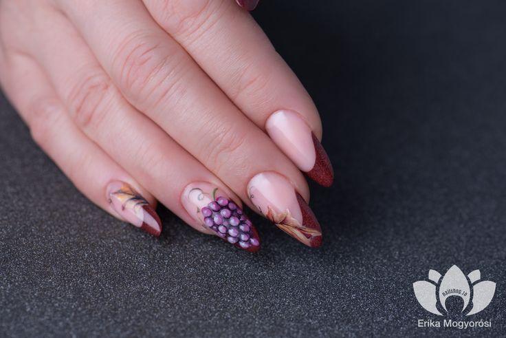 #nails #autumn #inspiration #grape #design #lovely #nails #nailshop