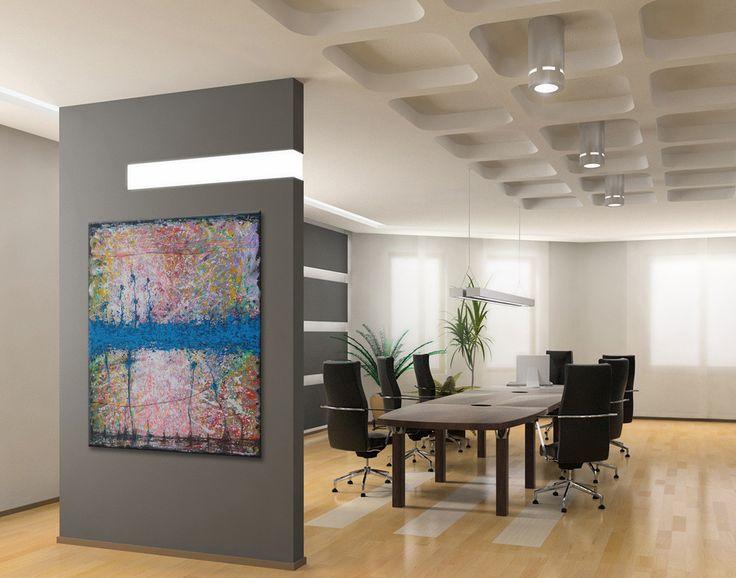 «Fractals-003» i interiør – Youri Ivanov - Jouris Kunst.