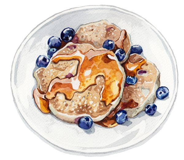 TV Magazine - Food Illustration - Holly Exley Illustration