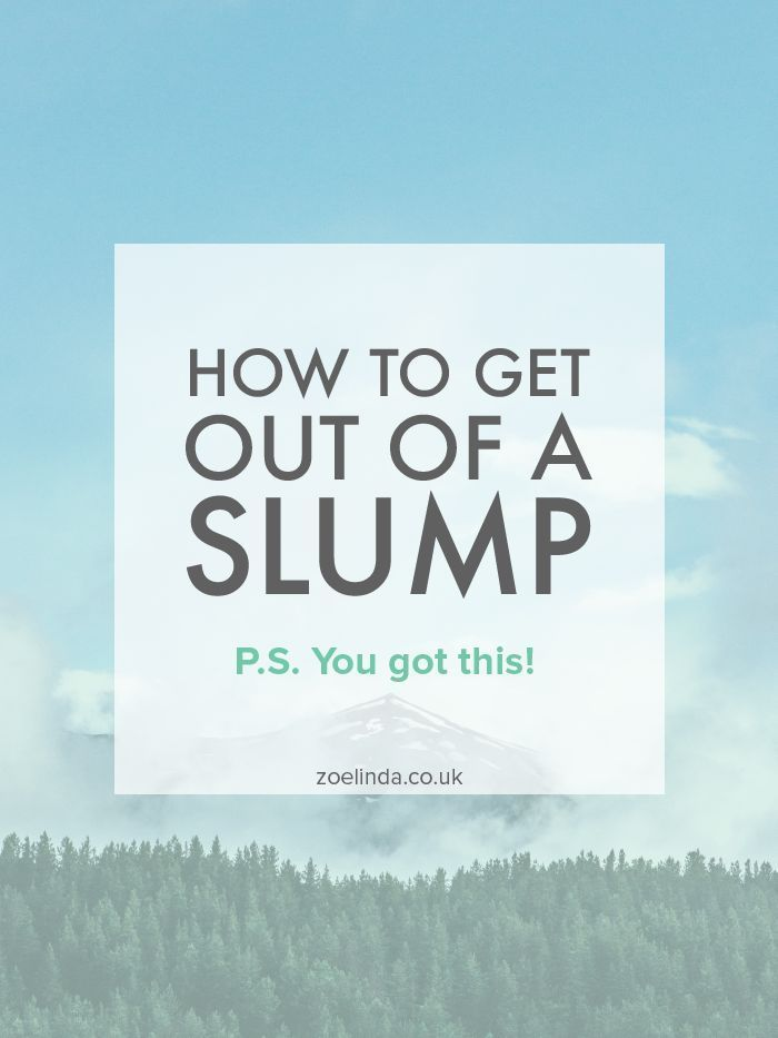 How to Get Out of a Slump | If you're in a blogging or business slump, it really sucks! That's why I've pulled together my top tips and tricks for pulling yourself out of a slump and getting motivated to get working again! Click through to find out more and don't forget to save this pin for later.
