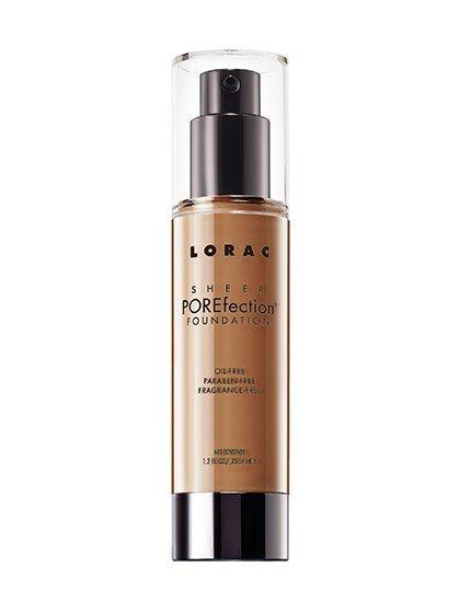 Not only is Lorac's newest foundation oil-free (a key quality to look for in summertime makeup) but it's also void of parabens and fragrance, making it a great option for anyone with sensitive or temperamental skin.