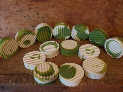 Coconut Lime Verbana Goat's Milk Soap, made the cold process way! - Country Cabin Candles & Soaps