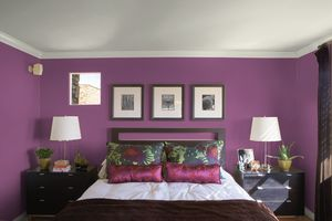 10 Great Pink and Purple Paint Colors for the Bedroom: Maytime Iris