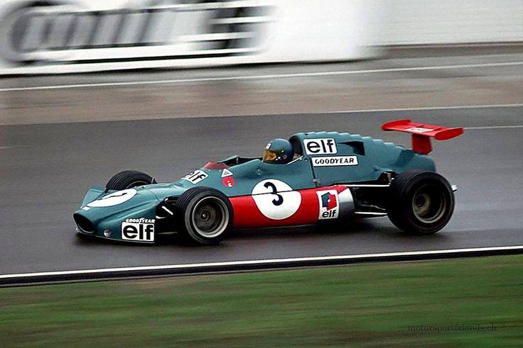 Patrick Depailler (Elf 2 Alpine A367) Ford BDA - championnat d'Europe de Formule 2 - Hockenheim 1972 - source Carros e Pilotos.