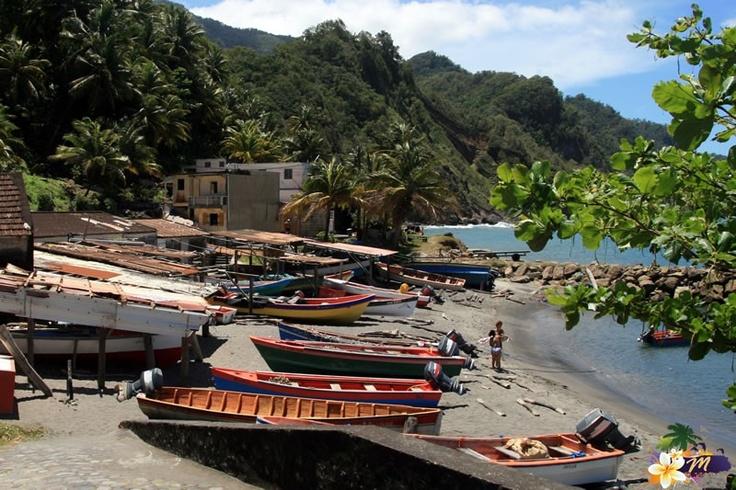 Port de pêche de Grand Rivière #Martinique
