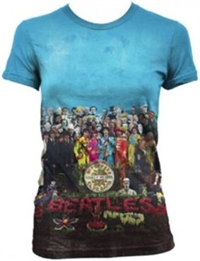 Show products in category Beatles Ladies/JRs Tees