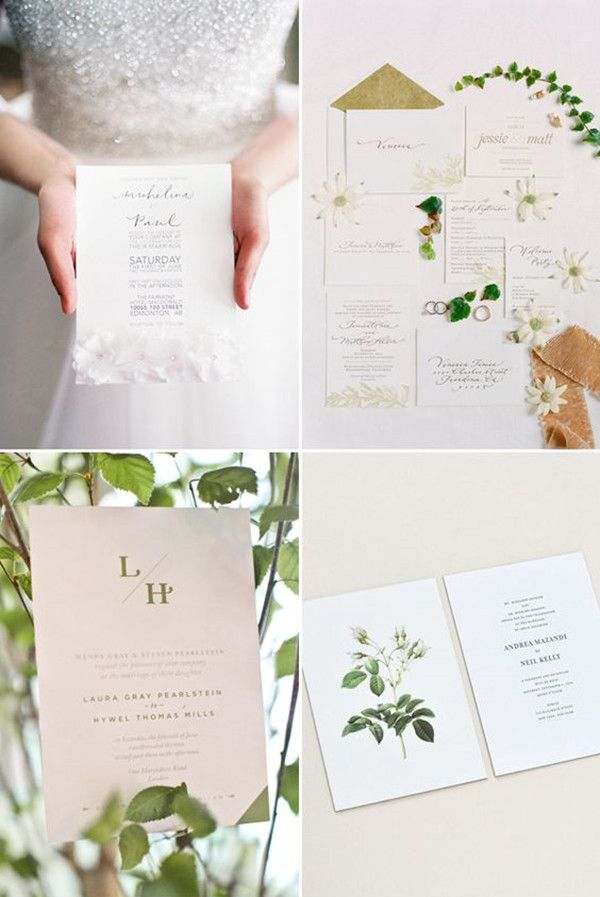 Top 10 Hot Wedding Invitation For 2016