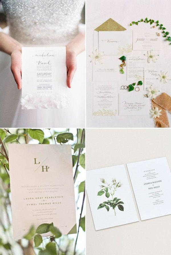 20 best Green Wedding Invitations images on Pinterest Green