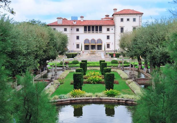 Castle Wedding Mansion In Miami FL Vizcaya Museum Gardens