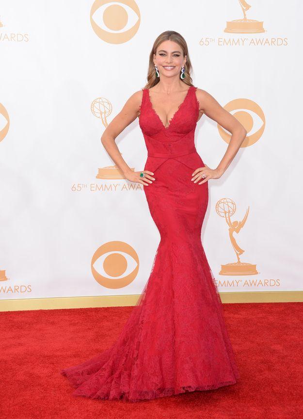 Sofia Vergara   Fashion At The 2013 Emmy Awards