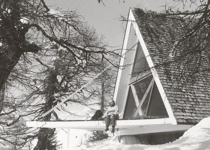 Heidi & Peter Wenger Trigon Vacation Home, Saflisch, Switzerland, 1955-56