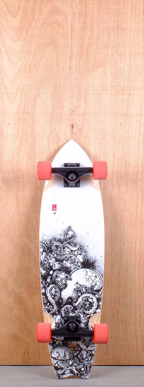 "Arbor 31"" GB Sizzler Bamboo Longboard Complete"