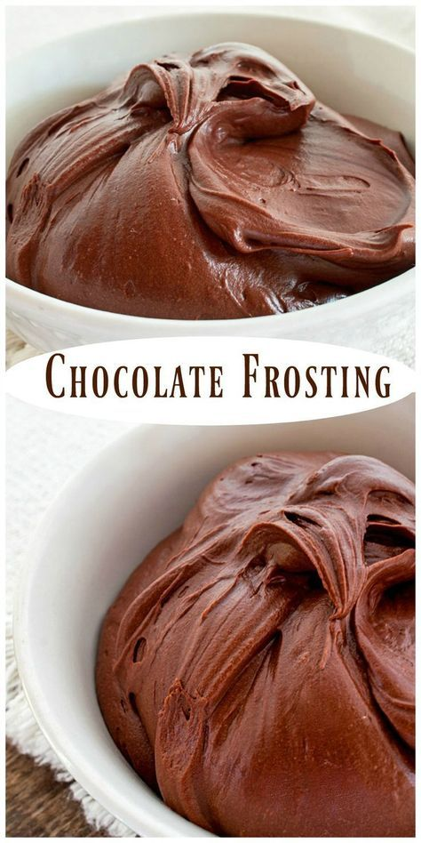 Homemade Chocolate Frosting is luscious and easy to make. It has a rich