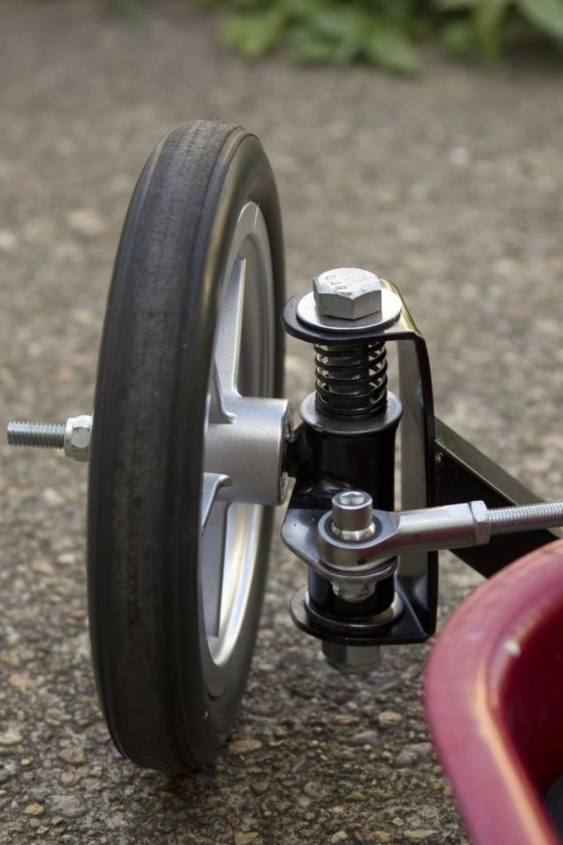 Someone posted my buddie's Radio Flyer build a…