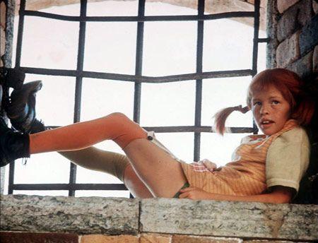 Pippi Longstocking--girlhood hero, childhood feminist icon. Why should Huck Finn have all the fun?