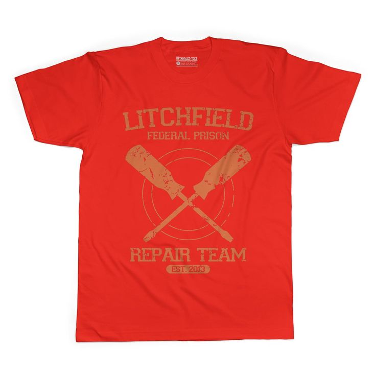 Litchfield Federal Prison Adult Tee Shirt