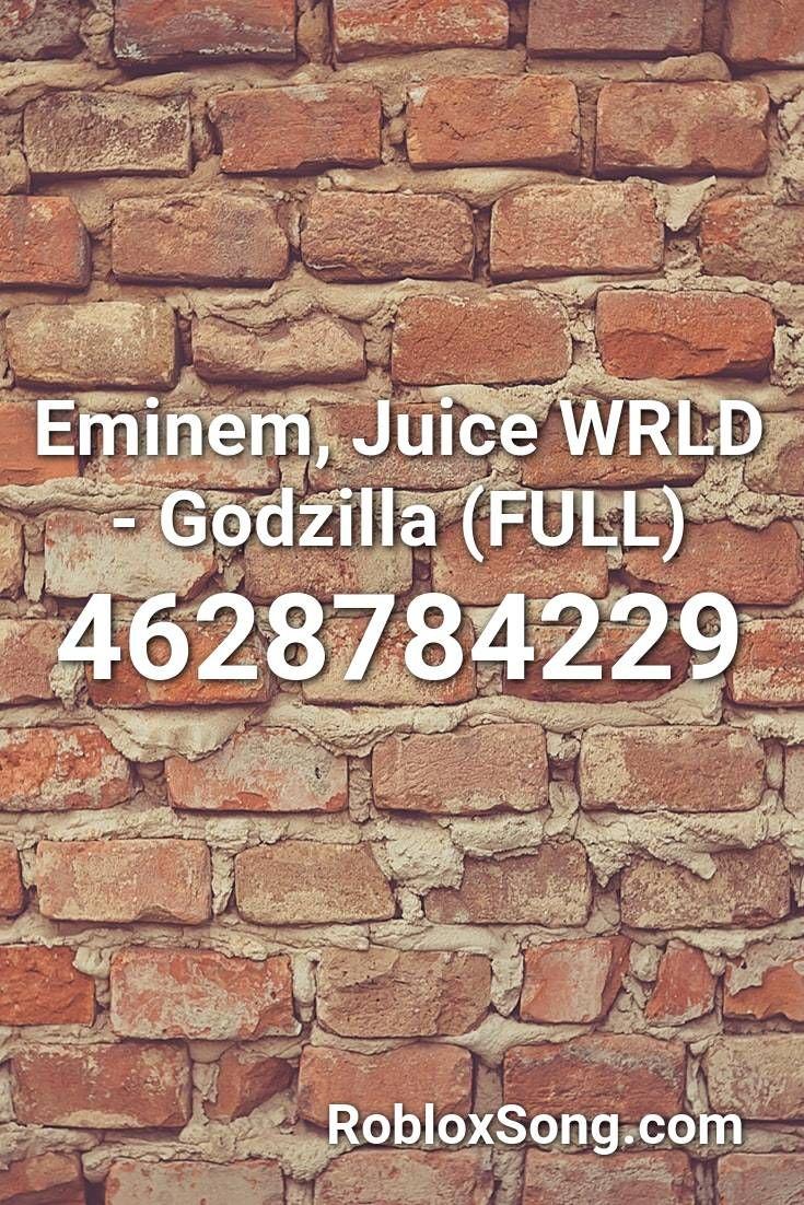 Eminem Juice Wrld Godzilla Full Roblox Id Roblox Music