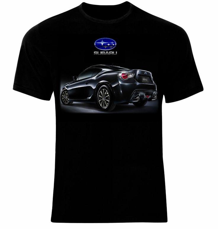 Subaru BRZ Logo Auto Spor Cars Manner Printed t-shirt All Sizes 2017 Hot Sale New Men'S T Shirt #Affiliate