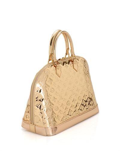 752e73948af6 Louis Vuitton LN Monogram Miroir Alma Handbag- Made in France