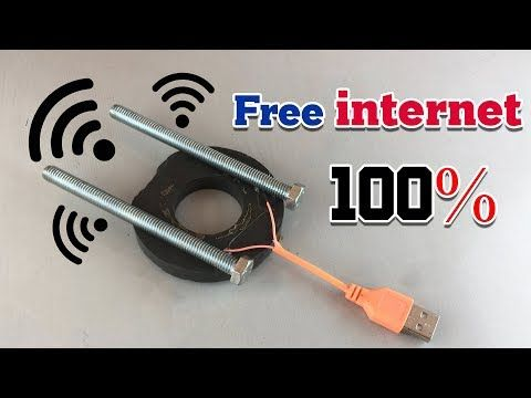 New Free internet 100% - Get Free internet at home 2019 - YouTube