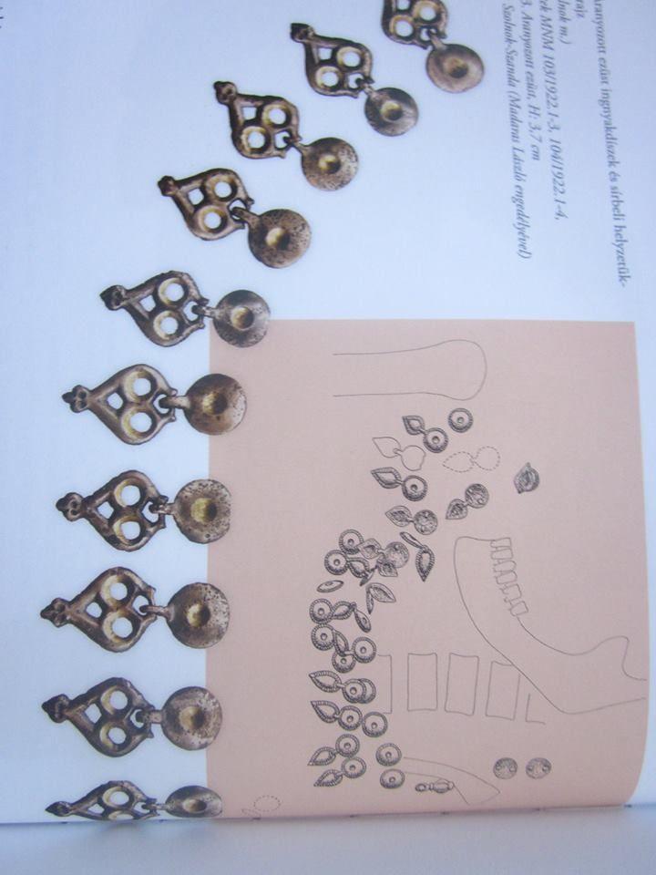 womens neck shirt decorative gilt silver from Alpár