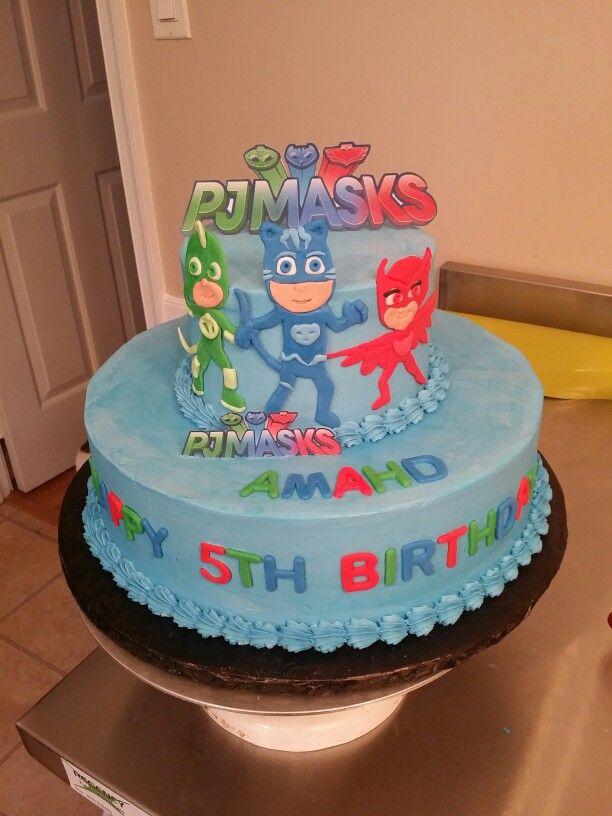Pj Masks Birthday Cake Cakes Michelle Price