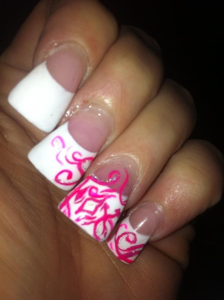 24 best acrylic Fox Racing nails images on Pinterest | Fox racing ...