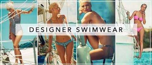 Temporary:Secretary   UK Fashion & Beauty Blogger: Designer Fashion: Heidi Klein Swimwear SS15