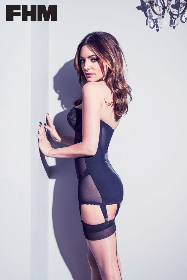 With you Kelly brook black lingerie have won