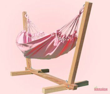 Boy Baby Hammock pink [Baby and Kids] - €32.50 : High Quality Hammocks, Hanging Chairs, Stands and Accessories, Marañon World of Hammocks