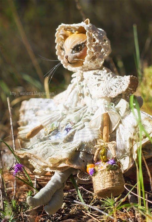 warianta. кукольная территория: котик