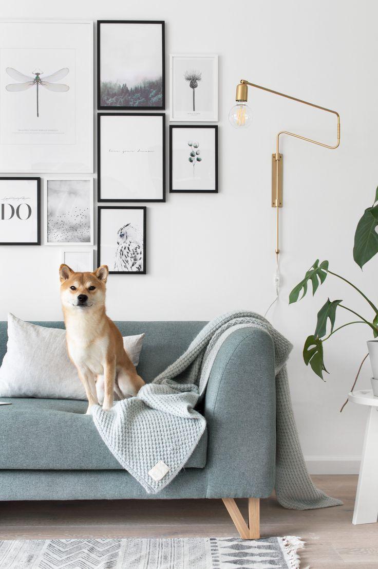 Een nieuwe bank in huis | Pinterest - Gordijnen, Kleur en Bank
