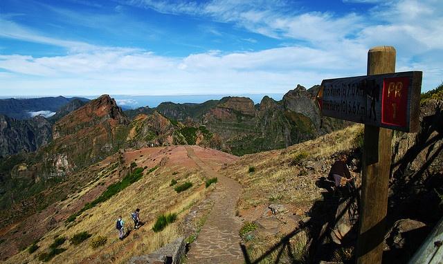 Pico do Arieiro ... Pico Ruivo Hike, Madeira, Portugal     by Gregor  Samsa, via Flickr