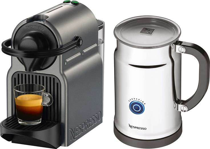 nespresso inissia titan espresso machine