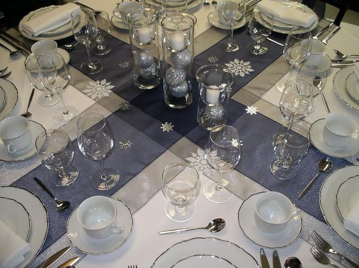 48 best Banquet table setting images on Pinterest | Table ...