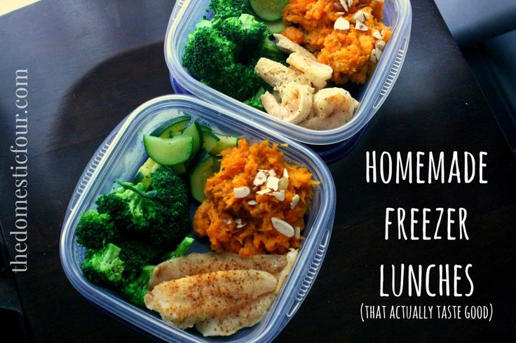 Homemade Freezer Lunches
