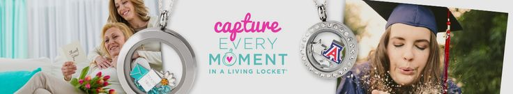 Capture every moment in an Origami Owl Living Locket!