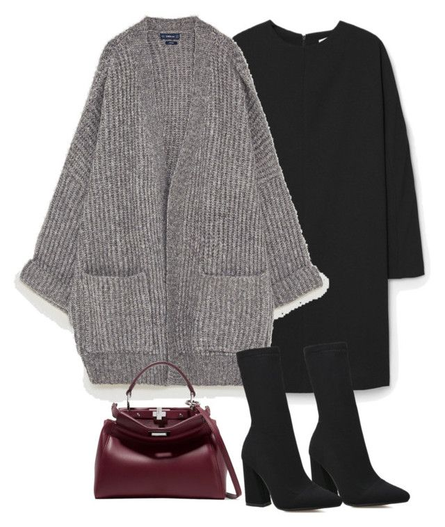 """""""Untitled #4937"""" by theeuropeancloset ❤ liked on Polyvore featuring MANGO and Fendi"""