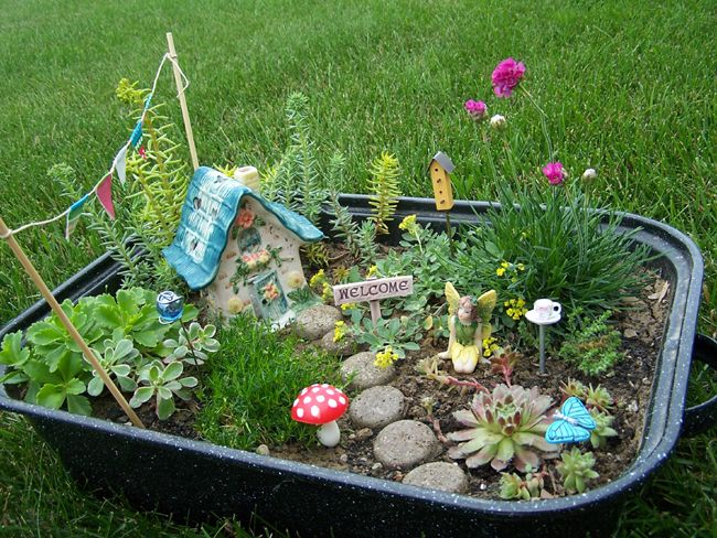 Fairy Garden Design home decorating trends homedit Unleash Your Imagination Magical Fairy Garden Designs