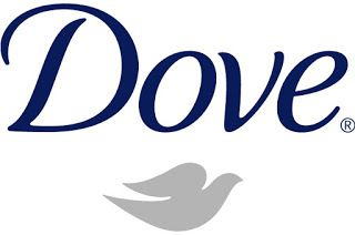 Dove ------ Dove portrays softness with its flowy font and dove icon.