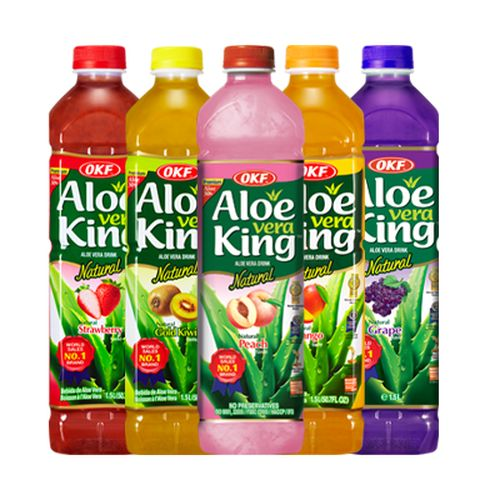 Aloe Vera King Drinks that taste great and are even better for you!
