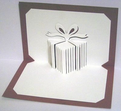 163 best diy pop up cards and pictures images on pinterest pop up pop up card with present template lots of cool pop ups and many with templates and instructions m4hsunfo