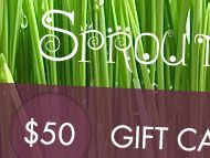 Sprout Gift Certificates