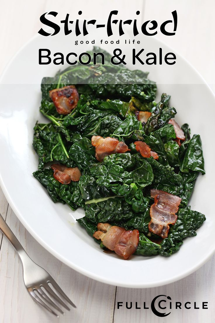 ... forward stir fried bacon and kale this stir fried bacon and kale